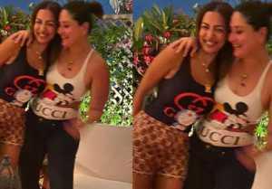 Malaika Arora has left Boyfriend Arjun Kapoor behind to party with Kareena Kapoor Khan