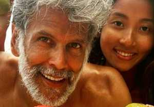 Fitness Freak Milind Soman has done these things with his wife Ankita Konwar, Video viral
