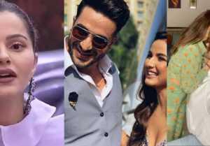 Rubina Dilaik reacts on Jasmin Bhasin and Aly Goni's Romantic Dance Video