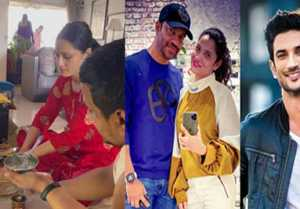 Ankita Lokhande Performs Puja at her home, Video goes Viral