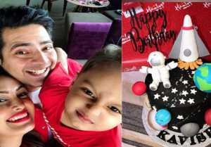Karan Mehra celebrates his son Kavish Birthday without Nisha Rawal