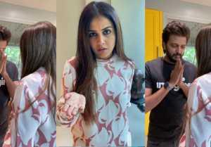 Riteish Deshmukh and Genelia DSouza Comedy video goes viral
