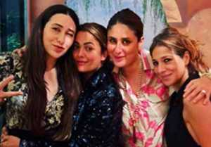 Karishma Kapoor Celebrates her Special Day with Kareena Kapoor Khan and Friends