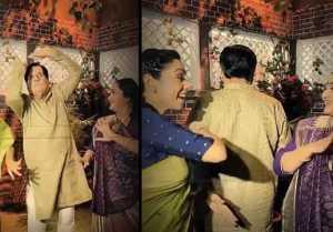 Anupamaa fame Rupali Ganguli Dance Video with Baa & Bapuji goes viral