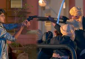 Barrister Babu Episode 332; Anirudh points gun on Bondita
