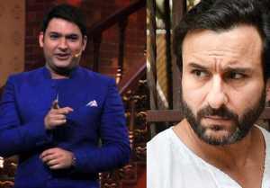 On the set of The Kapil Sharma Show, Saif Ali Khan and Kapil Sharma had a fight, Know Why