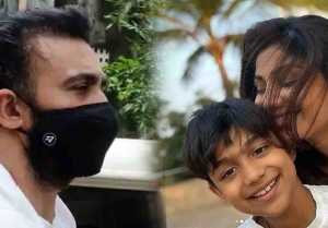 Shilpa Shetty's son Viaan shares his first post in between Raj Kundra's case