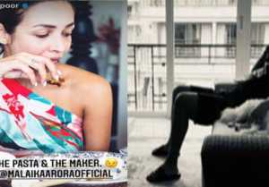 Arjun Kapoor did a surprise lunch with his girlfriend Malaika Arora, posted these photos