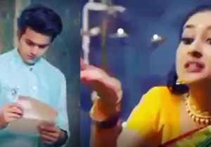 Barrister Babu Spoiler; Anirudh shocked to read Vaijanti's letter; Anirudh Bondita