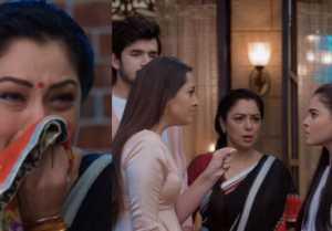 Anupamaa: Nandini slaps Pakhi in front of Toshu and Kinjal