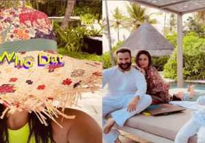 Kareena Kapoor Enjoying Vacations with Saif Ali Khan and Sons Taimur, Jeh