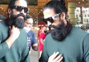 K.G.F Chapter 2's Actor Yash reached to Mumbai for discussing the release date?