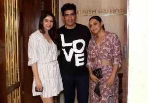 Shahrukh Khan's Wife Gauri Khan Spotted at Manish Malhotra House