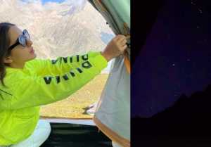 Sara Ali Khan enjoyed nightlife like this in Kashmir, Check out the photos