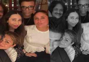 Kareena Kapoor Khan had a blast party with Manish Malhotra, Sanjay Mishara and Karisma