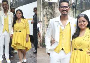 Bharti Singh looks super cute in Yellow dress after loosing weight; Watch video