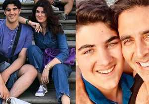 Akshay Kumar and Twinkle Khanna wishes son Aarav on 19th birthday