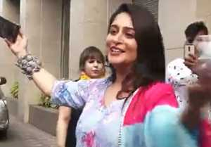 Dipika Kakar spotted at the launch of Meetha By Radission; She looks very Happy