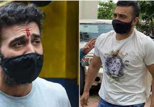 Raj Kundra looks Skiny When he was Released From Bychulla Jail