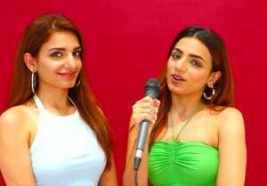 Sukriti kakar & Prakriti Kakar Exclusive Interview for Majnu Song | Sidharth Nigam & Abhishek Nigam