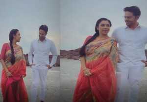 Anupamaa & Anuj romances each other at Mumbai beach; Watch video