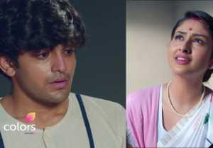 Barrister Babu 22 september Episode; Bondita touches Anirudh's feets in jail