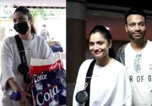 Sushant Singh Rajput's Ex-Girlfriend Ankita Lokhande did this with boyfriend at the airport