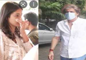 Ananya Pandey gets emotional & hugs father Chunky before NCB investigation
