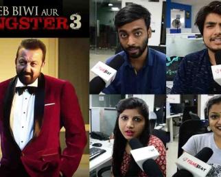 Saheb Biwi Aur Gangster 3 Trailer Reaction: Sanjay Dutt  Jimmy Shergill  Mahi Gill