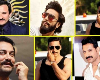 Ranveer Singh, Aamir Khan, Akshay Kumar & other celebs who Rocked with their MOUSTACHE