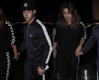 Priyanka Chopra & Nick Jonas Fly off for US, spotted at Mumbai airport; Watch Video