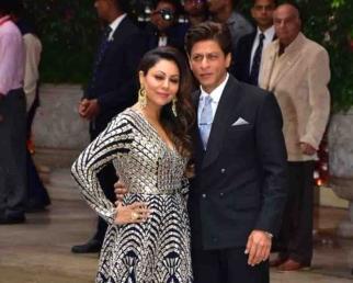 Shahrukh Khan, Gauri Khan looks at Akash Ambani - Shloka Mehta Pre Engagement Party