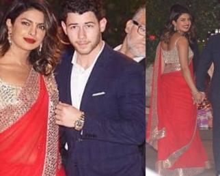Priyanka Chopra spotted holding hands with Nick Jonas at Ambani's party; Watch Video