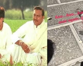 Shahrukh Khan's Son Abram Khan RECREATE DDLJ Hit Scene