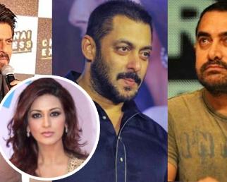 Sonali Bendre Cancer: Shahrukh Khan, Salman Khan & Aamir SILENT on Sonali's condition
