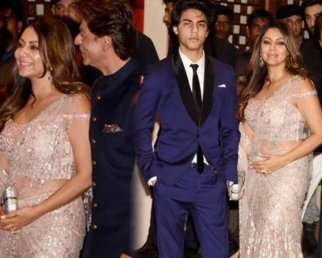 Akash Ambani & Shloka Mehta Engagement: Aryan Khan looks CARBON COPY of Shahrukh Khan