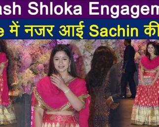 Akash Shloka Engagement: Sachin Tendulkar's daughter Sara looks stunning in Pink Ethnic