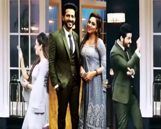 Arshi Khan and Hiten Tejwani's Nagin Dance goes viral from sets of Rajeev's chat show