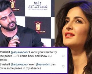 Katrina Kaif's Befitting Reply to Arjun Kapoor & Varun Dhawan on her Photoshoot