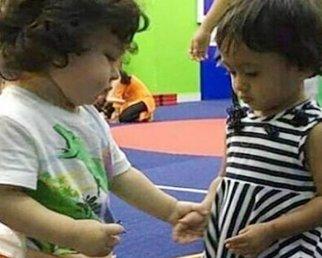 Taimur Ali  Khan FINDS his GIRLFRIEND in play school