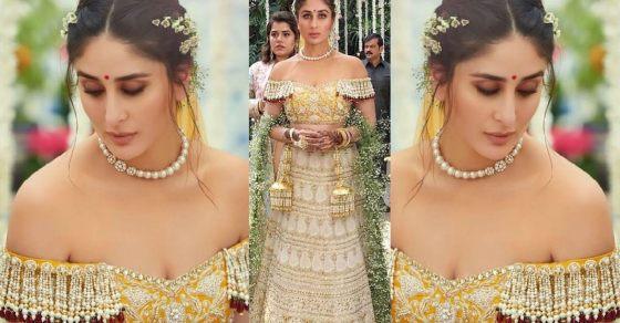 Kareena Kapoor Khan Wears  Years Old Bridal Lehenga In Veere Di