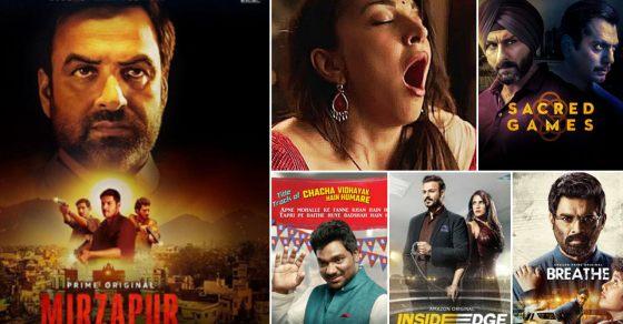 Mirzapur: Top 5 Indian Web Series on Netflix & Amazon Prime