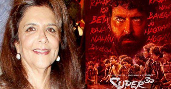 Super 30: Hrithik Roshan's mother Pinki Roshan gets