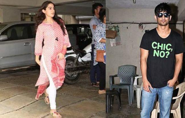 Sushant Singh Rajput SPOTTED with Sara Ali Khan at Abhishek Kapoor's Office for Kedarnath