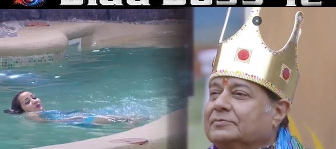 Bigg Boss 12: Roshmi Banik wears BIKINI for Anup Jalota; Shivashish Mishra