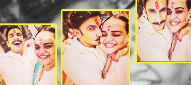 Deepika  Ranveer Wedding: EXCLUSIVE pictures of DeepVeer's HALDI Ceremony; Check Out