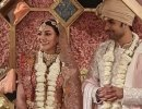 Kajal Aggarwal And Gautham Kitchlu Tie The Knot