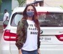 Kiara Advani Leaves For Shershaah Promotions To Kargil