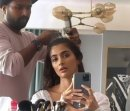 Pooja Hegde Shares A Cute Video From Her Make Up Room
