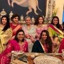 Karwa Chauth 2019: Aishwarya & Jaya Bachchan Strike A Pose